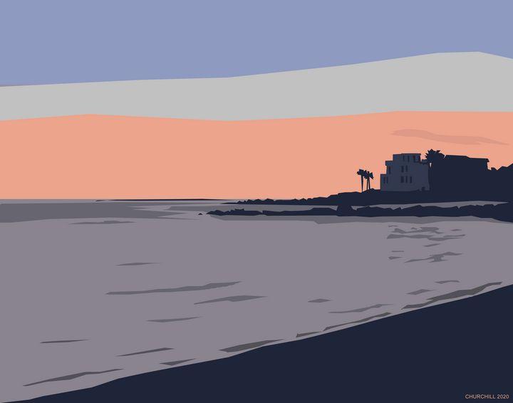 Sullivan's Island Sunset - John Churchill