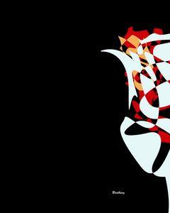 Abstract Flower 1 - David Bridburg