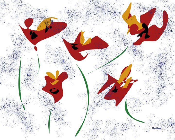 Flowers in the Wind - David Bridburg