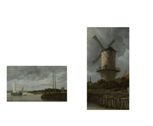 BW 8 van Ruisdael - David Bridburg