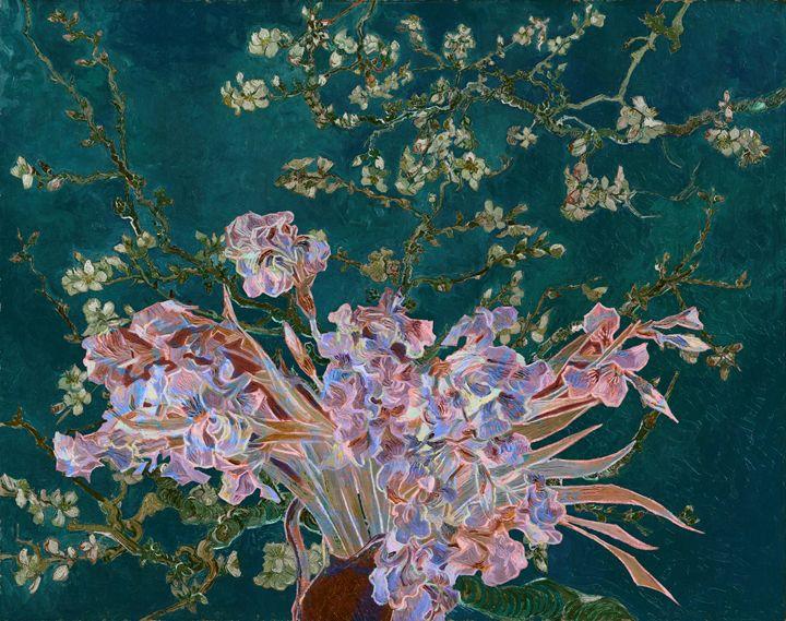 Layered 4 van Gogh - David Bridburg