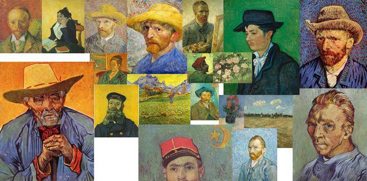 Vibrance of van Gogh Mural III - David Bridburg