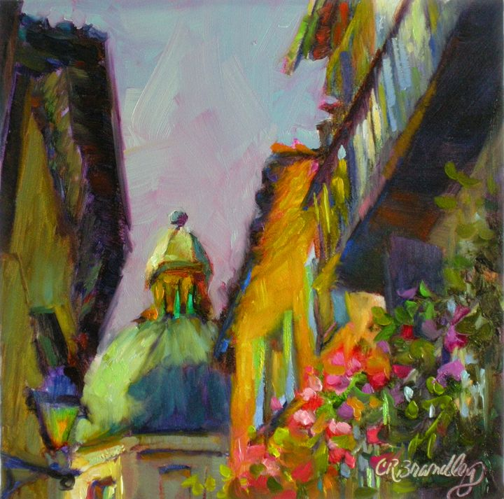 Always Take the Back Streets - Chris Brandley Fine Art