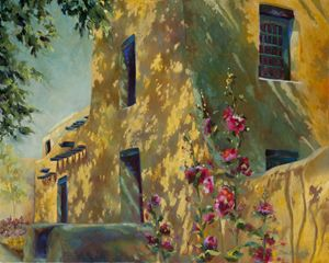 Park Avenue Pueblo - Chris Brandley Fine Art