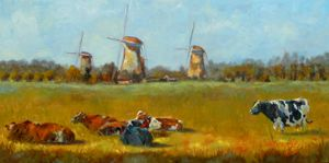 Going Dutch - Chris Brandley Fine Art