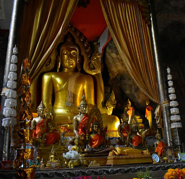 Buddha in Wat Ban Tham Cave - RCRayner
