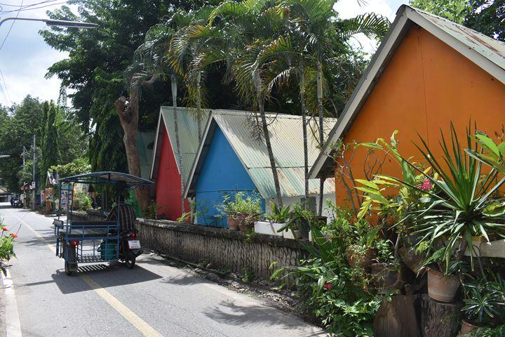 Road in Kanchanaburi Thailand - RCRayner