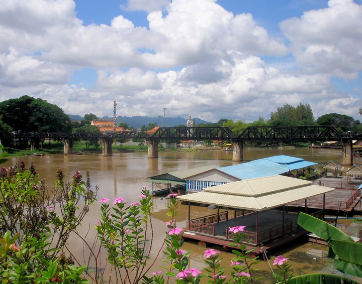 River Kwai Bridge Kanchanaburi - RCRayner