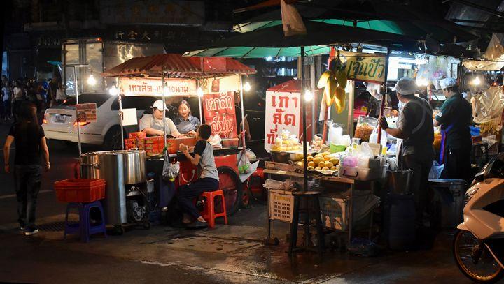Chinatown night market Bangkok - RCRayner