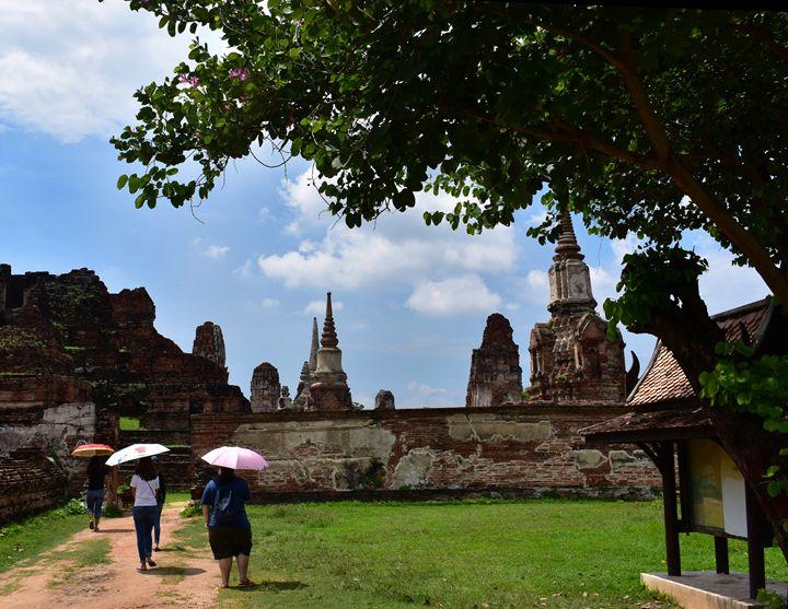 Wat Mahathat  Ayutthaya Thailand - RCRayner