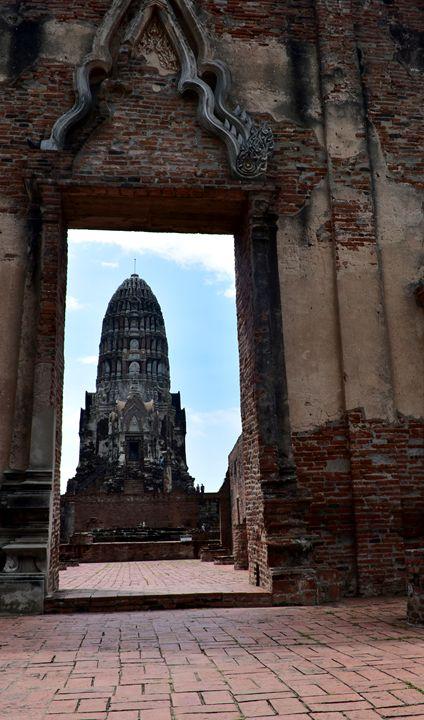 Wat Mahathat  in Ayutthaya - RCRayner