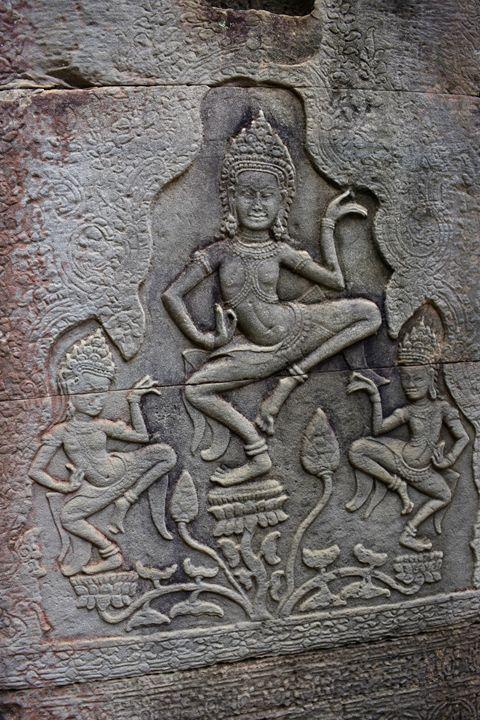 Apsara Dancers - Angkor Thom - RCRayner