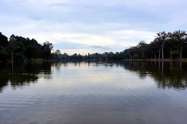 Moat around Angkor Wat - RCRayner