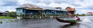 Kamplon Phluk village race by