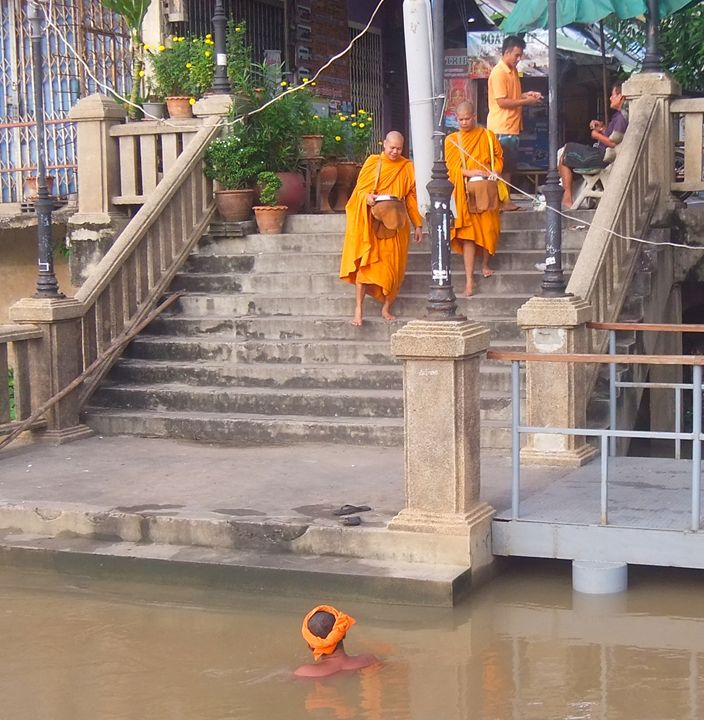 Prasat river Morning Dip Ayutthaya - RCRayner