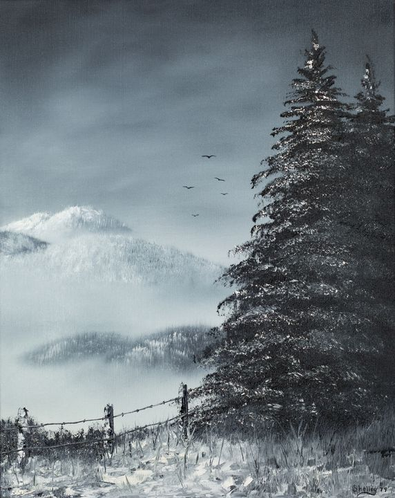 approaching winter storm - Michelle LeVesque Knie
