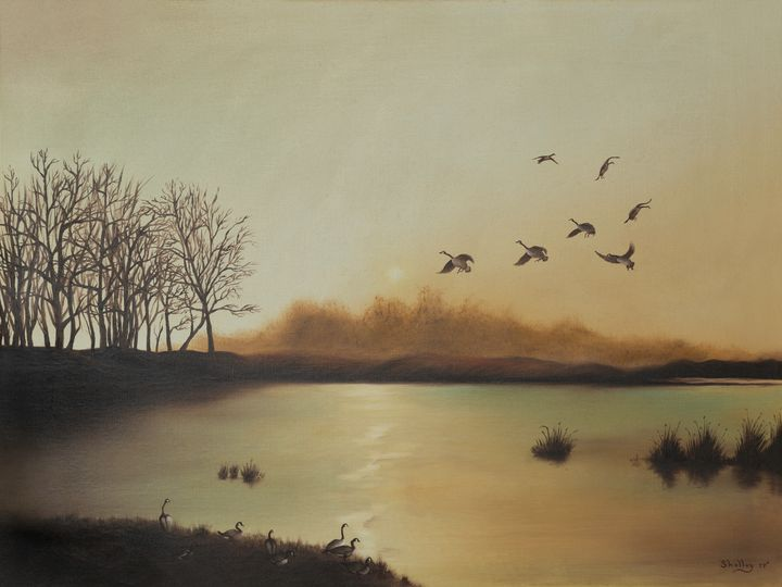 Fall Sunrise - Michelle LeVesque Knie
