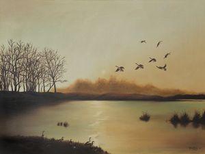 Fall Sunrise - Michelle LeVesque Knie