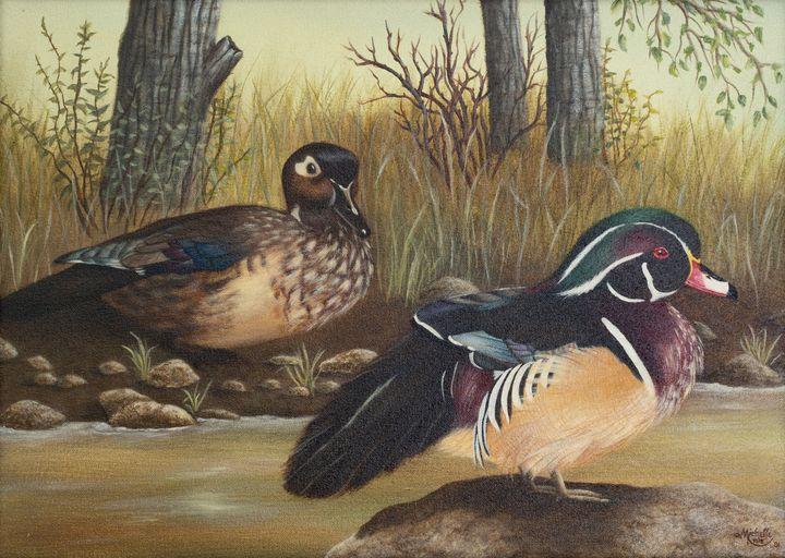 Wood Ducks - Michelle LeVesque Knie