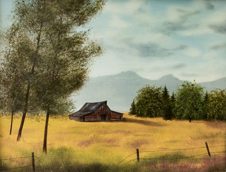 Barn at Tetons - Michelle LeVesque Knie