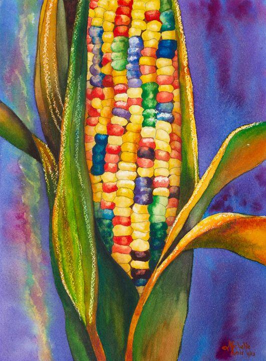 Calico corn - Michelle LeVesque Knie