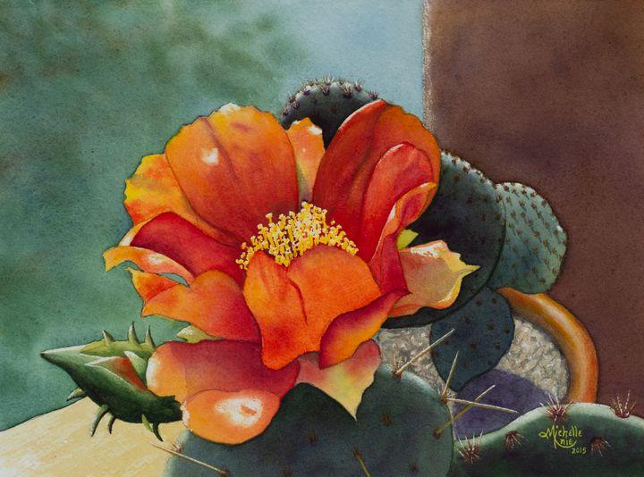 Cactus flower - Michelle LeVesque Knie