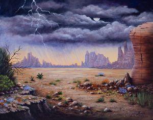 Desert storm - Michelle LeVesque Knie