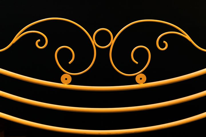 yellow fence ornamental elements on - Ivan Banchev Photography