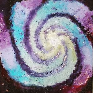 Rainbow Spiral Galaxy
