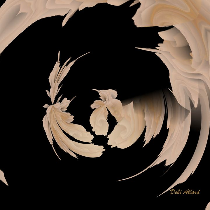 Angel Hair - Debi Allard Art