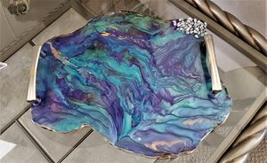 Resin Tableside Coaster with Handles