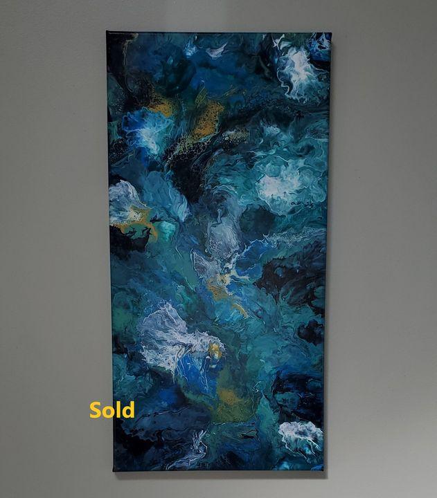 Blue Jones - Debi Allard Art