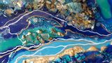 Geode Painting