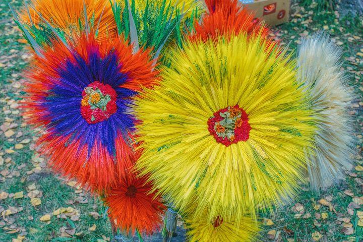 decorative headdress - Jarek Witkowski gallery