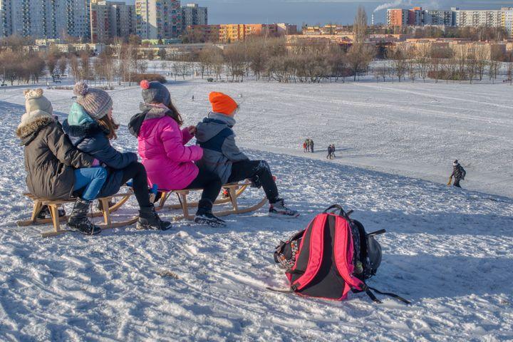 on the sledge hill - Jarek Witkowski gallery