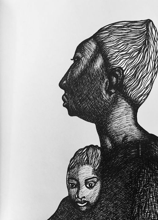 Mother and Child - Labeeb A. Hameed