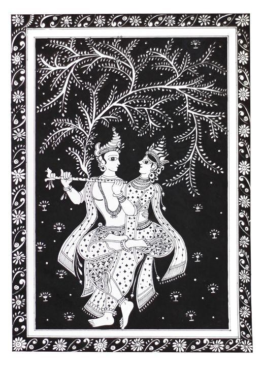 Radha Krishna the Devine - F 3 : Fusion of Fine and Folk