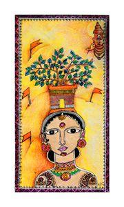 Varkari - A Pilgrim Lady