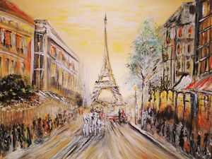 Painting the Streets of Paris