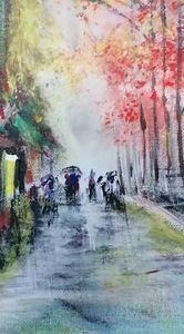 Rainy days in Summer