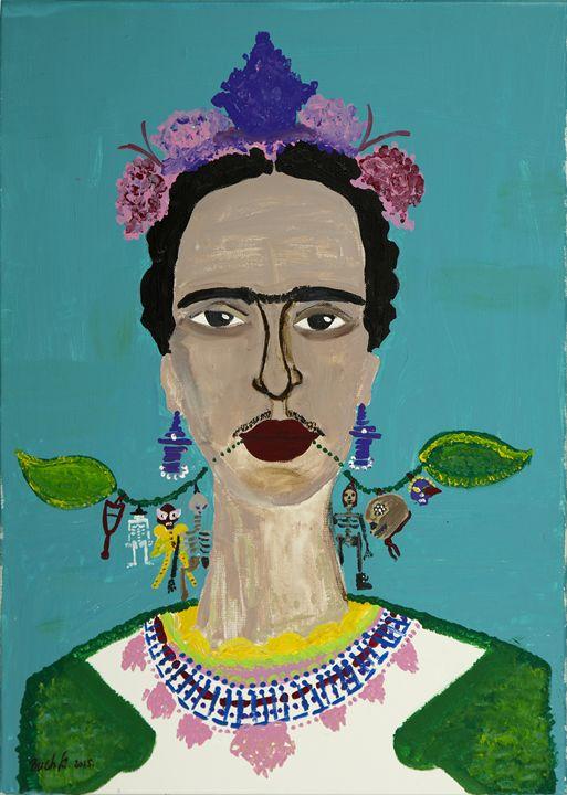 Frida Kahlo - Sylvia Bach