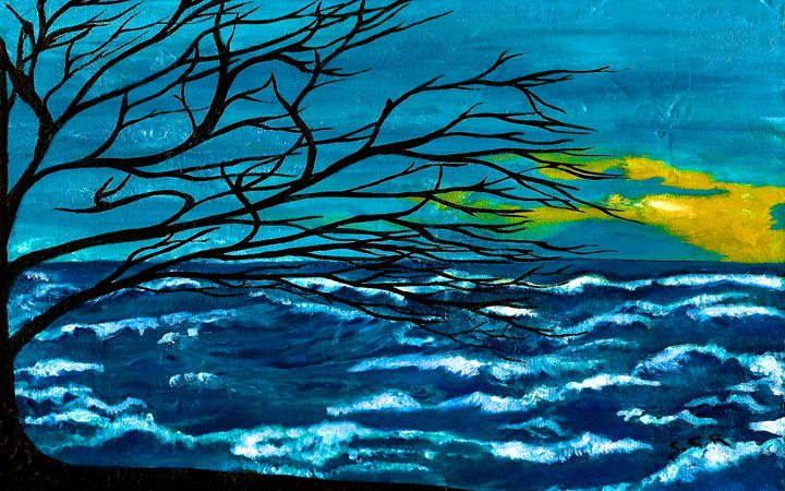 The Ocean - Saribelle Inspirational Art