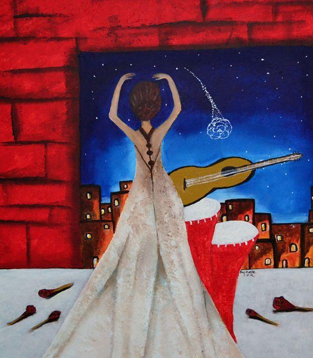 Love To Dance 002 - Saribelle Inspirational Art