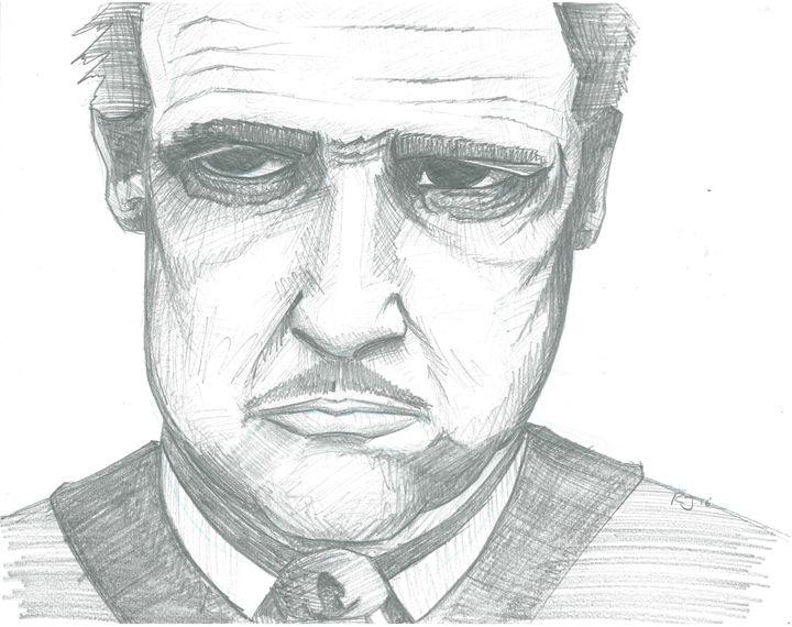Marlon Brando _ The Godfather - rj elmore
