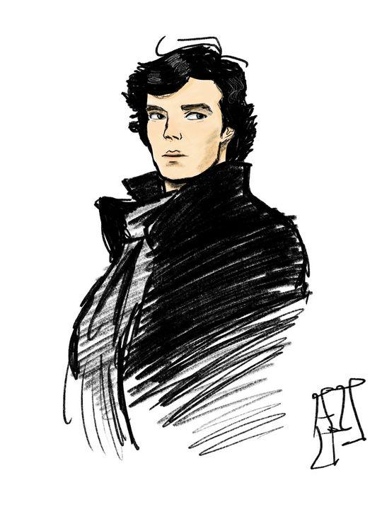 Cumberbatch as Sherlock Holmes - NOAJ