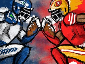 Seahawks At 49ers