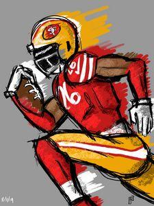 49ers Tevin Coleman #26
