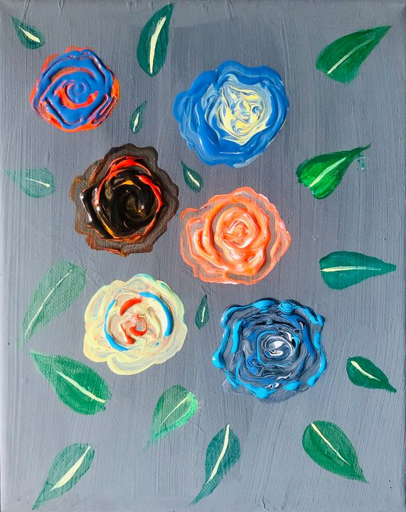 Roses - Deepak's Art