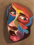 Original Painting Look on Eyes