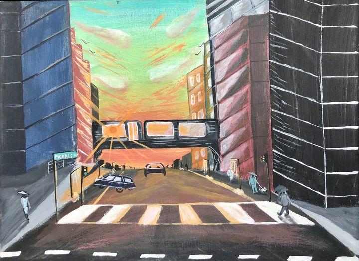 City Walks - Deepak's Art